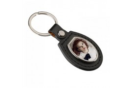Porte-clé en polyuréthane format ovale 40 x 90 mm (vendu à l'unité)