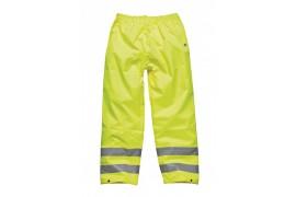 Pantalon de sécurité jaune adulte 100% polyester DSA 12005