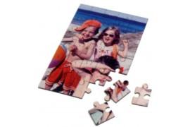 Puzzle blanc brillant format A5 19,7 x 14,5 cm épaisseur 2 mm - 80 pièces (vendu à l'unité)