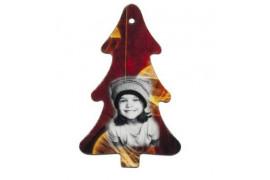 Sapin de Noël en feutrine 5,5 x 9 cm (vendu à l'unité)