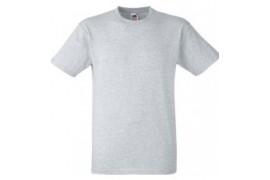 Tee-shirt gris 100% coton 185 gr/m² S à XXXL