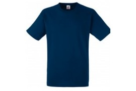 Tee-shirt marine 100% coton 185 gr/m² S à XXXL