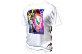 Tee-shirt blanc Basic unisex 190 gr/m² S à XXXXXL (vendu à l'unité)