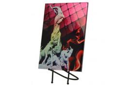 Support forme design en métal noir pour carrelage décoratif