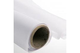 Tissu de drapeau polyester blanc largeur 103 cm - Vendu au mètre