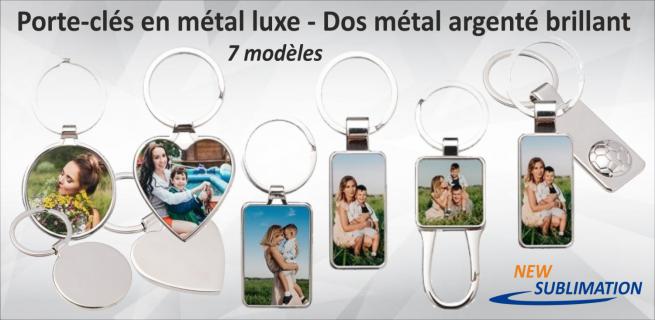 Porte-clés métal luxe